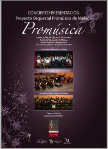 CONCIERTO PRESENTACION DEL PROYECTO ORQUESTAL PROMÚSICA