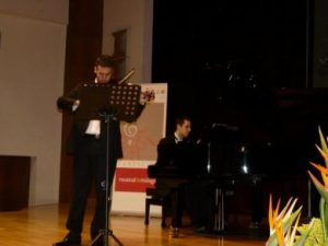 ANGEL CAMPOS MENDOZA, PIANISTA DE 22 AÑOS, GALARDONADO CON EL VI PREMIO FUNDACIÓN MUSICAL DE MÁLAGA 2012.