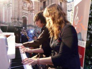 LA FUNDACIÓN MUSICAL DE MÁLAGA COLABORA CON LA NOCHE EN BLANCO 2012 A TRAVÉS DE LA ACTIVIDAD: UN PIANO EN LA CALLE