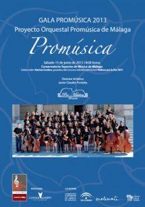 GALA DEL PROYECTO PROMUSICA 2013