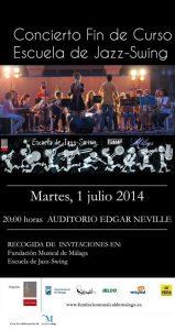 CONCIERTO FIN DE CURSO DE LA ESCUELA DE JAZZ-SWING 2014