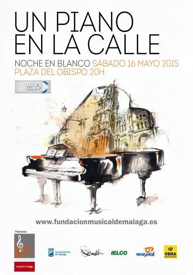 UN PIANO EN LA CALLE - NOCHE EN BLANCO 2015