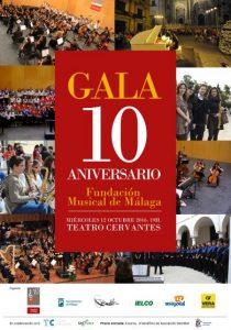 GALA 10 ANIVERSARIO FUNDACION MUSICAL DE MÁLAGA