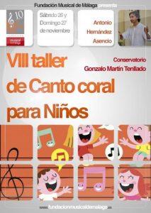 VIII TALLER DE CANTO CORAL PARA NIÑOS
