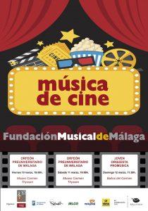 CARTEL MÚSICA DE CINE - MaF 2017